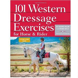 101 Western Dressage Exercises for Horse & Rider Spiral Book