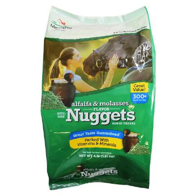Manna Pro Alfalfa Molasses Nuggets 4 lb
