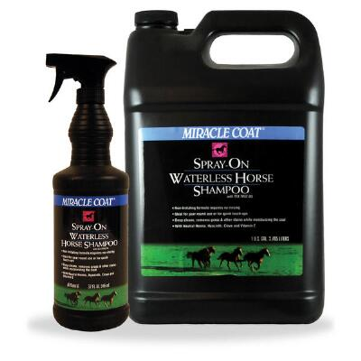 Miracle Coat Spray On Waterless Shampoo 32 oz