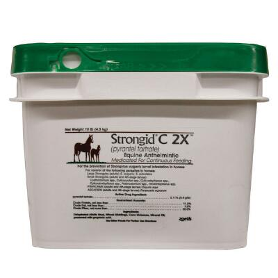 Strongid C 2x Wormer 10 lb