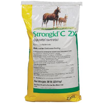 Strongid C 2x Wormer 50 lb