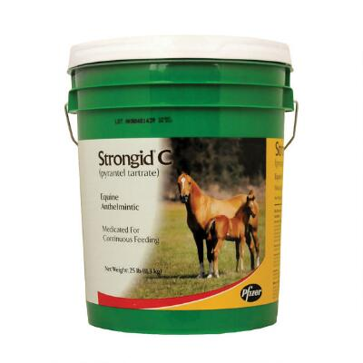 Strongid C Wormer 25 lb