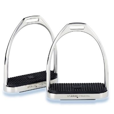 Stubben Stirrup Irons Stainless Steel