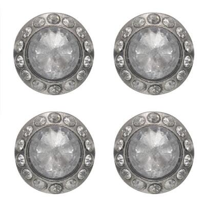 Tough 1 Clear Crystal Magnetic Number Holders
