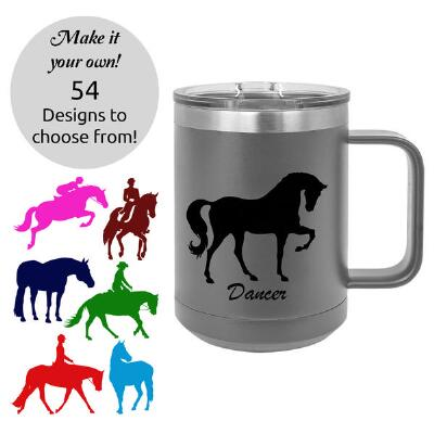 Insulated 15oz Travel Coffee Mug with Custom Decal