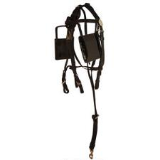 Blind Bridle Synthetic Leather lined Crown - TB