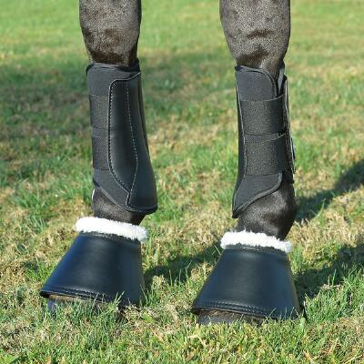 Equifit Essential Bell Boot with Sheepswool Top