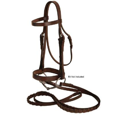 Tory Leather Heavy Duty Flat Hunt Bridle