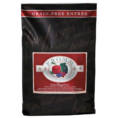 Fromm Four Star Grain Free Beef Frittata Dog Food 26 lb