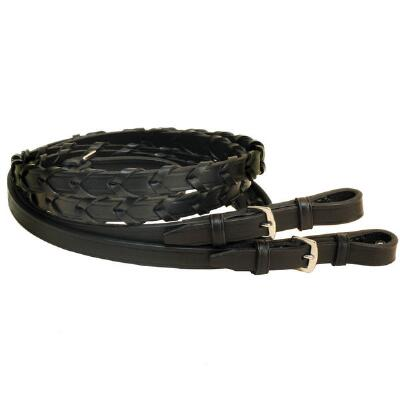 Tory Laced Reins Buckle End