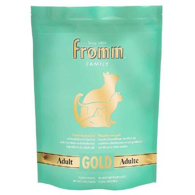 Fromm Adult Gold Cat Food 4 lb