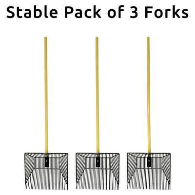 Fine Tine Pitch Fork 3 Count Stable Pack
