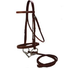 Raised Snaffle Bridle - TB