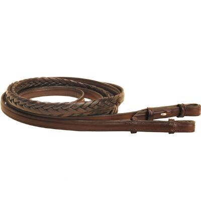 Tory Plaited Rein with Hook and Stud End 72 in