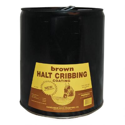 Halt Cribbing 5 Gallon Brown