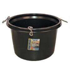 Fortiflex Round Feed Tub 30 qt Black - TB