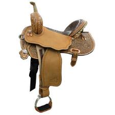 Circle Y Josey Ultimate Cash Barrel Saddle - TB