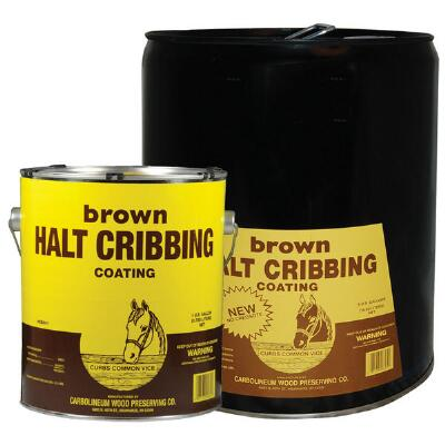 Halt Cribbing Brown Gallon