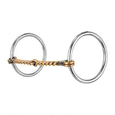 Reinsman Loose Ring Copper Twisted Wire Snaffle