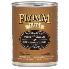 Fromm Turkey Duck & Sweet Potato Pate 12.2 oz - TB