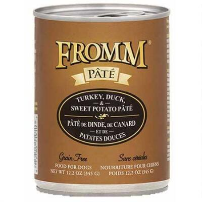 Fromm Turkey Duck & Sweet Potato Pate 12.2 oz