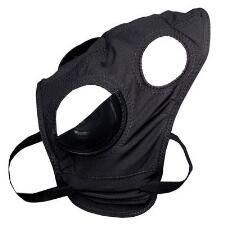 Facehood Knit Full Cups Black with Snap Hooks