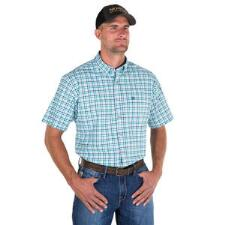 Noble Outfitters Generations Short Sleeve Mens Western Shirt - TB