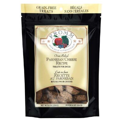 Fromm Dog Treats Parmesan Cheese 8 oz