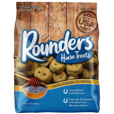 Blue Seal Rounders Molasses Horse Treats 30 oz