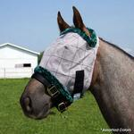 Farnam Supermask II Classic Fly Mask No Ears -  Yearling Size - TB
