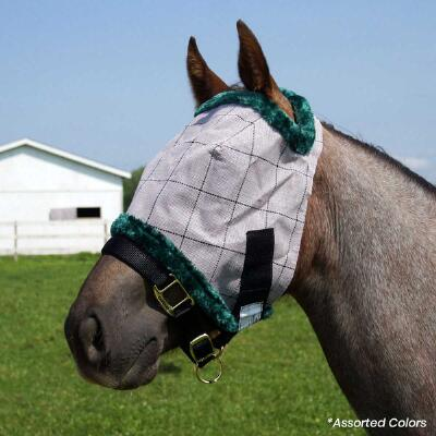 Farnam Supermask II Classic Fly Mask No Ears -  Yearling Size