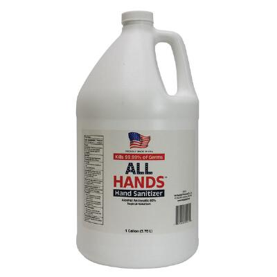 All Hands Hand Sanitizer Antiseptic Gallon Refill