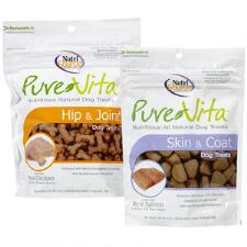 NutriSource Pure Vita All Natural Dog Treats 6oz - TB