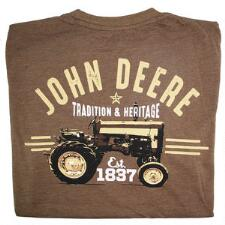 John Deere Tradition and Heritage Mens Tee - TB