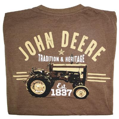 John Deere Tradition and Heritage Mens Tee