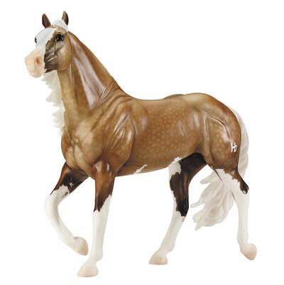 Breyer Traditional Big Chex To Cash Overo Palomino