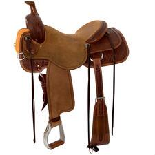 Circle Y Dodge Ranch Sorter Western Saddle - TB