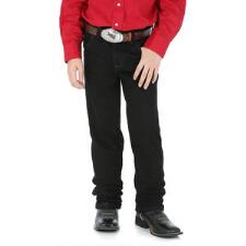 Original Cowboy Cut Black Boys Jeans - TB