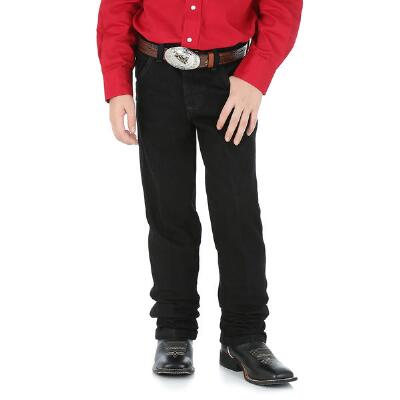 Original Cowboy Cut Black Boys Jeans