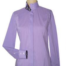 Essex Classics Isabel Violet Papillon Gingham Ladies Show Shirt - TB