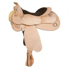 Circle Y Roughout Trainer Western Saddle