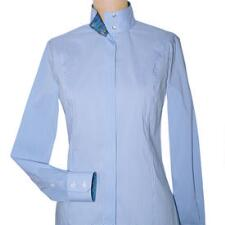 Essex Classics Isabel Blue Gingham Cheval Ladies Show Shirt - TB