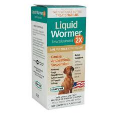 Liquid Wormer 2X for Dogs 16 oz - TB