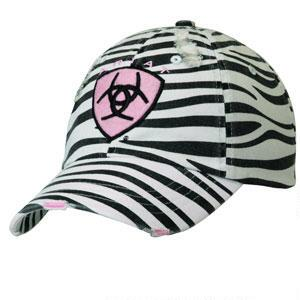 Ariat Zebra Ladies Baseball Cap