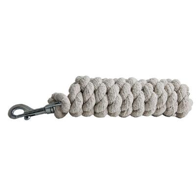 Cotton Lead Rope With Snap 6 Ft
