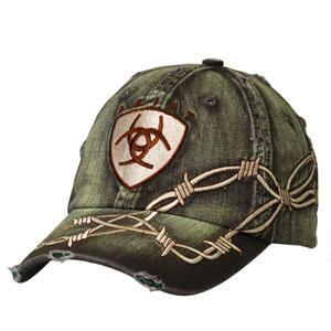 Ariat Barbed Wire Mens Baseball Cap