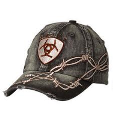 Ariat Barbed Wire Mens Baseball Cap - TB