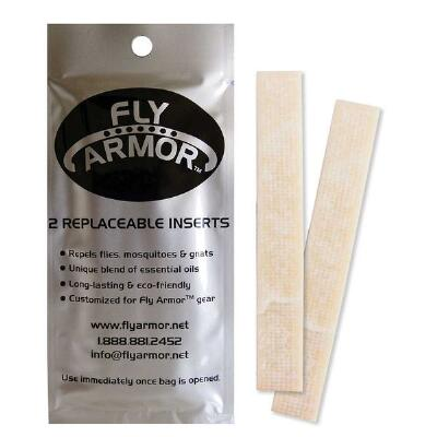 Fly Armor Replacement Inserts 2 Pads