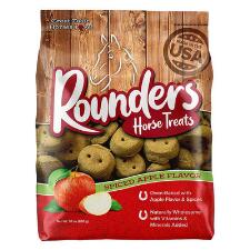 Blue Seal Rounders Spiced Apple Horse Treats 30 oz