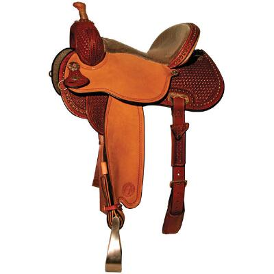 Circle Y Lisa Lockhart LL Contender Barrel Saddle